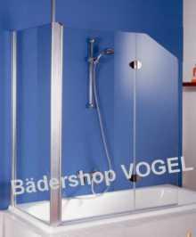 Duschabtrennung Für Badewanne duschabtrennung badewanne zweiteilig mit seitenteil maßanfertigung