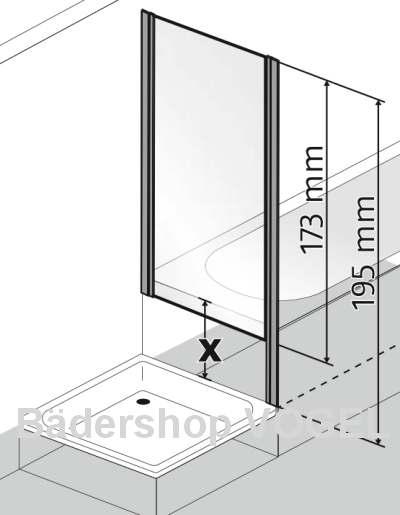 dreht r favorit nova b 75 und verk rztes seitenteil. Black Bedroom Furniture Sets. Home Design Ideas
