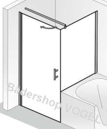 Wenn Bei Ihnen Badewanne Und Dusche Nebeneinander Stehen, Finden Sie Hier  Die Richtige Lösung   Die Duschtür Und Das Verkürzte Seitenteil