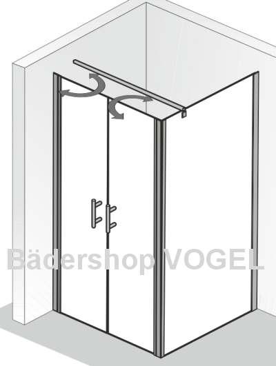 pendelt r exklusiv mit seitenteil h he bis 200 cm ma anfertiung. Black Bedroom Furniture Sets. Home Design Ideas