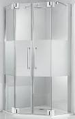 Produktdetails für Fünfeckdusche fast rahmenlos mit 8 mm Glas, Maßanfertigung
