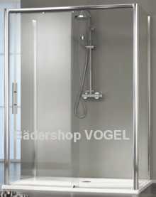 Duschkabine U-Form/ Dusche an gerader Badezimmerwand anzeigen