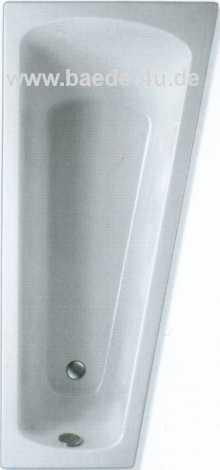Raumsparwanne ASCEA 175 x 80